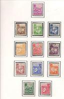 ALGÉRIE Scott 319-330 Yvert 389-399 (12) * Et O Cote 7,50 $ 1964 - Algérie (1962-...)