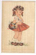 1948 - COLOPRINT 3622-  PETITE FILLE - KLEIN MEISJE -  JUPE ROKJE  -   TRES BELLE CARTE - ZEER MOOIE KAART - Fancy Cards