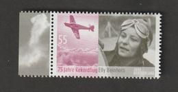 75. Jahrestag Des Rekordfluges Von Ella Beinhorn . MiNr.: 2814. - BRD