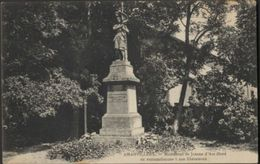 Amanvillers -Monument De Jeanne D'Arc élevé En Reconnaissance à Nos Libérateurs - France