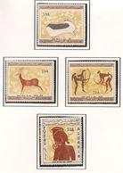 ALGÉRIE Scott 365-368 Yvert 437-440 (4) ** Cote 23,00 $ 1967 - Algérie (1962-...)
