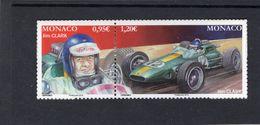 Grand Prix De Monaco - Formula 1 Cars & Drivers  -  Jim Clark  -  Lotus  -  2v Se-tenent Neuf/Mint - Cars