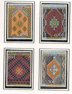 ALGÉRIE Scott 393-396 Yvert 463-466 (4) ** Cote 6,00 $ 1968 - Algérie (1962-...)