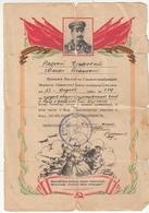 RUSSIA. THANKS. APRIL 23, 1945 STALIN. *** - Documents Historiques