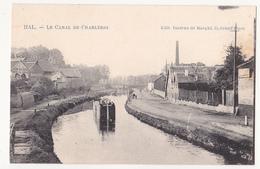 Halle:Le Canal De Charleroi.(Péniche) - Halle