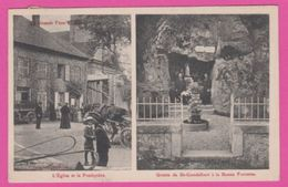 88 VOSGES - GRANDE FOSSE , L'eglise Et Le Presbytere , Grotte - Frankreich