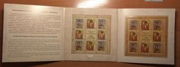 Russia 2018 Russian & Serbian Cultural Heritage Icon Painting Wooden S/s In Pack MNH Not Postal - Blocks & Sheetlets & Panes