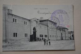 """UZES-caserne Brueys- Cachet Violet""""hopital Auxiliaire Du Territoire N°119-union Des Femmes De France-uzes-medecin Chef"""" - Uzès"""