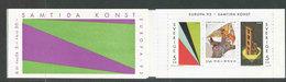 EUROPA - SUEDE 1993 - CARNET  YT C1756 - Facit H437 - Neuf ** MNH - Art Contemporain - BF 23 - Europa-CEPT