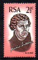 AFRIQUE DU SUD. N°309 De 1967. Martin Luther. - Theologians