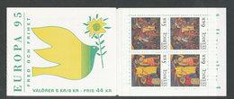 EUROPA - SUEDE 1995 - CARNET  YT C1853 - Facit H457 - Neuf ** MNH - Europa-CEPT
