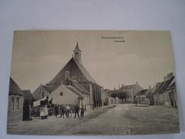 Retranchement (gem.Sluis) Dorpstraat // Geanimeerd // Gelopen Met Onleesbare KR Stempel 19?? - Netherlands