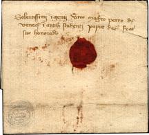 46 1350 - Lettera Scritta Da Almerico Da Venezia Al Fratello Pietro Da Venezia, Studente Di Medicina A ... - Italië