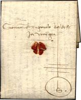 59 1459 - Lettera Completa Di Testo Da Firenze 4/12/1459 A Venezia, Con Gilda Mercantile Con Monogramma... - Italië