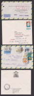 Brasilien Brasil Rio De Janeiro Diamantina  Erzbischof  6 Covers, Letters  To Germany  Alemania - Storia Postale