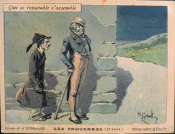 Chromo & Image - Chromo. - Editée Par L'Alcool De Menthe RICQLES - Illustration H. GERBAULT - En L'état - Chromos