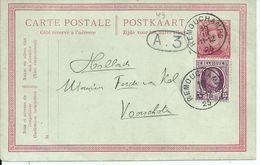 10c-postkaart Met Bijfrankering OCB 195 - Afstempeling REMOUCHAMPS - 1922-1927 Houyoux