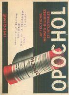 Publicité -  L '  Opochol Laboratoire De Médecine Experimentale - Advertising