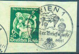 """Nr. 762 """"Tag Der Briefmarke"""" Briefstück Mit Ersttagsstempel - Oblitérés"""