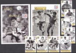 Grenada 1994, Football World Cup In USA, 8val+2BF - 1994 – USA