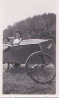 Photo Ancienne  Voiturette Velocar Voiture A Pédales   PRIX FIXE - Automobiles