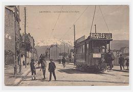 Grenoble 38 Tramway Pub Ricqlès - Grenoble