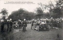 84Sm   18 Bourges Expo Automobile Lorraine-Dietrich Pompiers Tacot D'incendie Pompe De Vierzon En TBE - Bourges