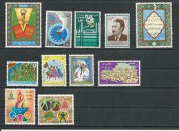 ALGÉRIE Scott  625,629-0,624,627,631-2,628,651,642-3 Yvert 697,701-2,696,699,703-4,700,723,714-5 (11) ** 9,50 $ 1979-80 - Algérie (1962-...)