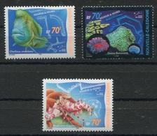 RC 8257 NOUVELLE CALÉDONIE N° 815 /817 AQUARIUM DE NOUMÉA POISSONS NEUF ** - Nueva Caledonia
