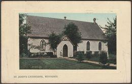 St John's Cathedral, Winnipeg, Manitoba, 1910 - Valentine's Postcard - Winnipeg
