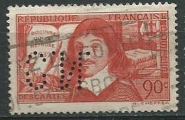 France - Yvert N° 341   Oblitéré   Perforé Cn    -    Pa 11529 - Gezähnt (Perforiert/Gezähnt)