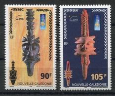 RC 8260 NOUVELLE CALÉDONIE N° 823 / 824 MUSÉE ART KANAK NEUF ** - New Caledonia