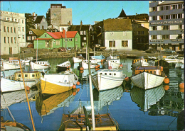 "POSTCARD.  FAROES. TÓRSHAVN. ""Kongabrúgvin"". Unused. Copyr: Drewsen. Tórshavn.  Kv.1. LP0545-1 - Faroe Islands"