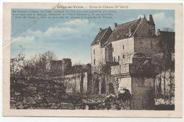 60   CREPY EN VALOIS  RESTES DU CHATEAU  Y565 - Crepy En Valois