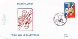 2785  BD  FDC   Rare Chick Bill Rik Ringers Ric Hochet Tibet 17-10-1988 1880 Kapelle-op-den-Bos €9 - 1991-00