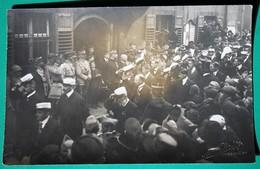 Entrée Des Français à Guebwiller -   Guerre 1914 1918 - (filigrane Relief : Edition Alph. Welty Guebwiller) - Guebwiller