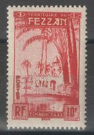 Fezzan - YT Taxe 10 * - Fezzan (1943-1951)