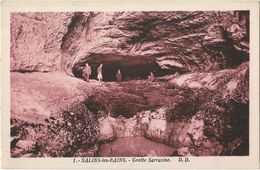 Salins-les-Bains - Grotte Sarrazine - France