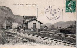 84Sm   38 Bernin La Gare - Andere Gemeenten