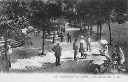 Martigny Les Bains (88) - Une Allée Au Parc - Non Classés
