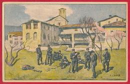 AK SCHWEIZ 'Nationalspende' ~ Um 1910 - Militaria