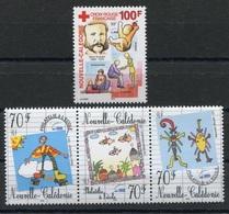 RC 8265 NOUVELLE CALÉDONIE N° 830 + 831 / 836 CROIX ROUGE + PHILATELIE A L' ECOLE NEUF ** - Nueva Caledonia