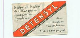 Publicité -     Detensyl -  Dissipe Les Troubles  De La Ménaupose , Laboratoire Du Détensyl - Publicité