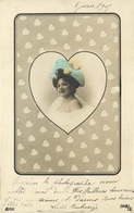 ENSEMBLE De 4 AS Portrait De Femme - Cartes à Jouer