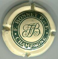 CAPSULE-CHAMPAGNE BONNET P & Fils N°03 Crème & Vert - Autres