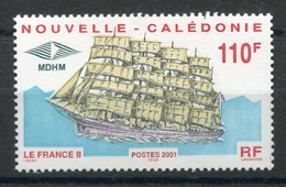 RC 8267 NOUVELLE CALÉDONIE N° 839 GRAND VOILIER LE FRANCE II NEUF ** - Nueva Caledonia