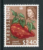 Montserrat 1965 Fruit & Vegetable - $2.40 Sweet Potato MNH (SG 175) - Montserrat