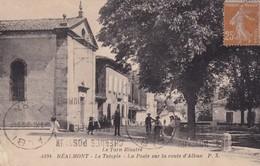 81 / REALMONT / LE TEMPLE / LA POSTE SUR LA ROUTE D ALBAN - Realmont