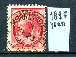 CANADA - Year 1897 - Usato - Used - Utilisè - Gebraucht. - 1851-1902 Regno Di Victoria