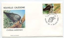 RC 8269 NOUVELLE CALÉDONIE N° 843 FDC OISEAU LE CORDEAU 1er JOUR NEUF ** - Nueva Caledonia